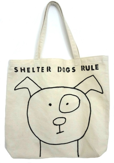 Tote Bag - Shelter Dogs Rule