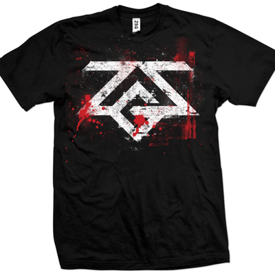 Zombie survival goods t-shirt (black)
