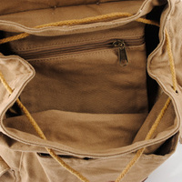 Rugged canvas travel rucksacks | Cool daypack mens - Thumbnail 3