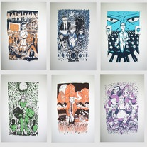 Literature Prints 6 Pack