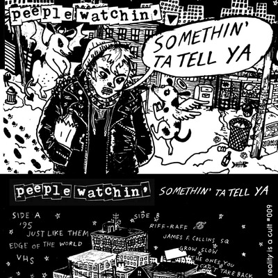 Peeple watchin' - somethin' to tell ya cs