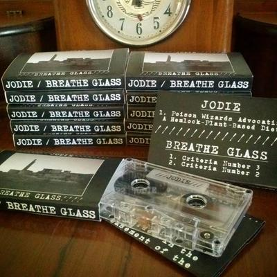 Jodie /// breathe glass split tape