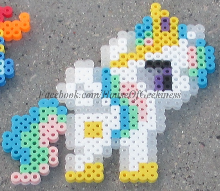 My Little Pony Inspired Set Of Magnets Ornament Or Wall Decor