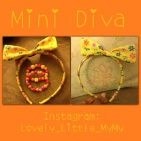 Hippie headband & bracelet set