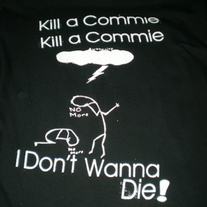 Gang Green - 'Kill a Commie' T-shirt