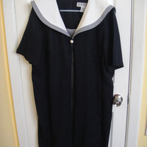 Dressbarn Sailor Dress Sz 16W