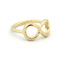 Twisted Infinity Ring (More Colors Available)