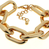 Chunky Golden Chain Bracelet