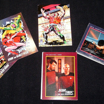 Star Trek, Marvel, Image Trading Cards