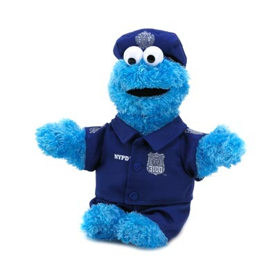Cookie Monster Cop