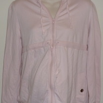 Pink Jacket with Hood-Liz Lange Maternity Size XS