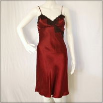 Burgundy Night Gown