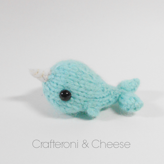 Wee Ami Knit Narwhal Crafteroni Cheese Online Store Powered
