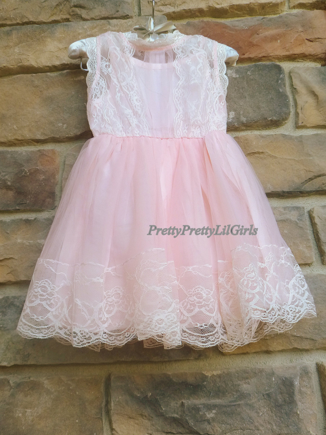 Pink Flower Girl Dress Flower Girl Dress Girls Pink Dress Girls