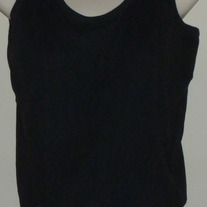 Black Nursing Tank Top-Motherhood Nursingwear Size Small  CLTE1
