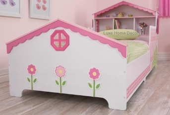 Playhouse Bed Toddler Luxe Home Decor Furnishings