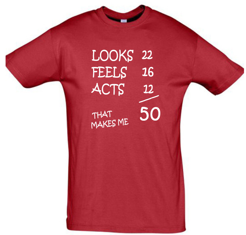 50th birthday shirt,men shirts, women shirts, gift ideas, birthday ...