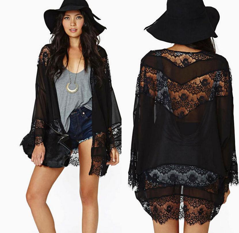 Eyelash Lace Black Kimono · Fashion Struck · Online Store Powered ...