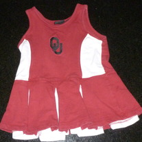 OU Cheerleading Uniform-Team Starter Size 3T