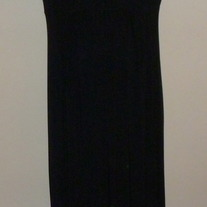 Black Dress with Lace Top-Antthony Size Medium