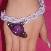 Purple Saturn Bracelets