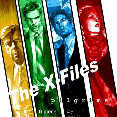 The x-files cover print set