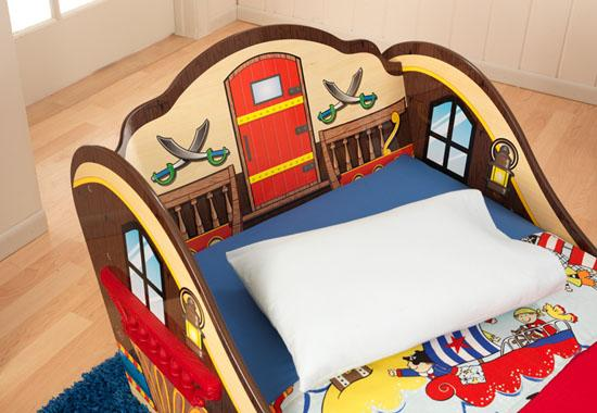 Pirate Cove Bed Toddler Luxe Home Decor Furnishings