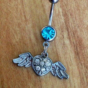 Love On The Inside Belly Ring