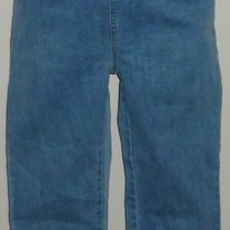 Denim Capris-Maternity Announcements Size Small  02116