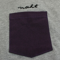 Purple Heather Pocket T-Shirt