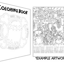 Coloring Book Limited Item
