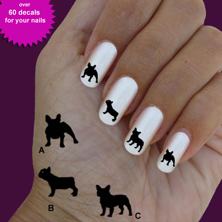 Photos - Bild - Galeria: FRENCH BULLDOG NAIL ART