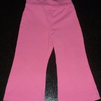 Pink Cotton Pants-The Children's Place Size 24 Months