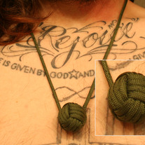 Monkey Fist Necklace