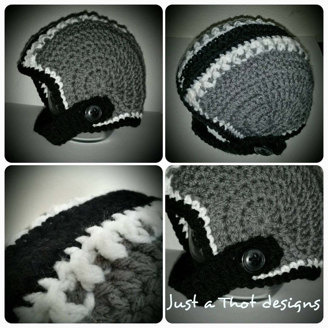 Football Helmet Hat Crochet Jatdesigns Online Store Powered By