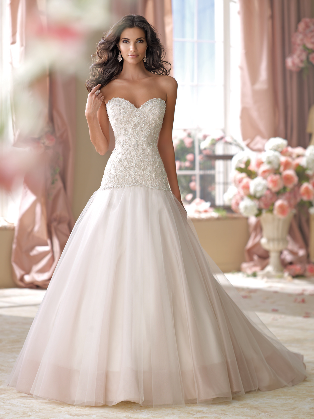 David Tutera Mon Cheri Bridal Gowns Cora #114270 · The Wedding Loft ...