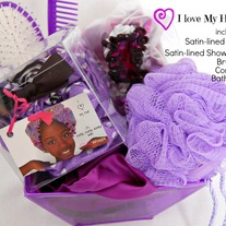 I Love My Hair Gift Set- Purple