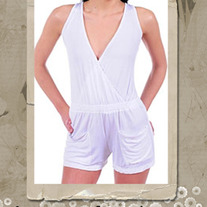 Wrap-Effect Playsuit