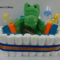 Gators Diaper Basket