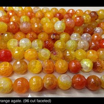Orange Agate 10mm