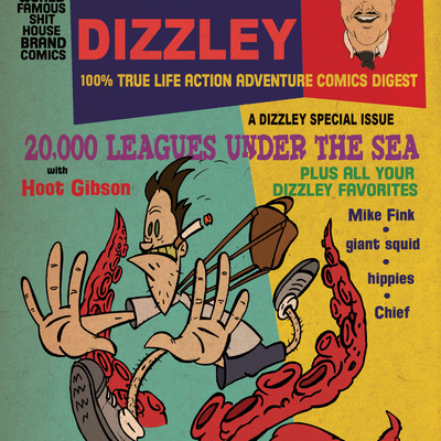 Ward dizzley's 100% true life action adventure comics digest issue two