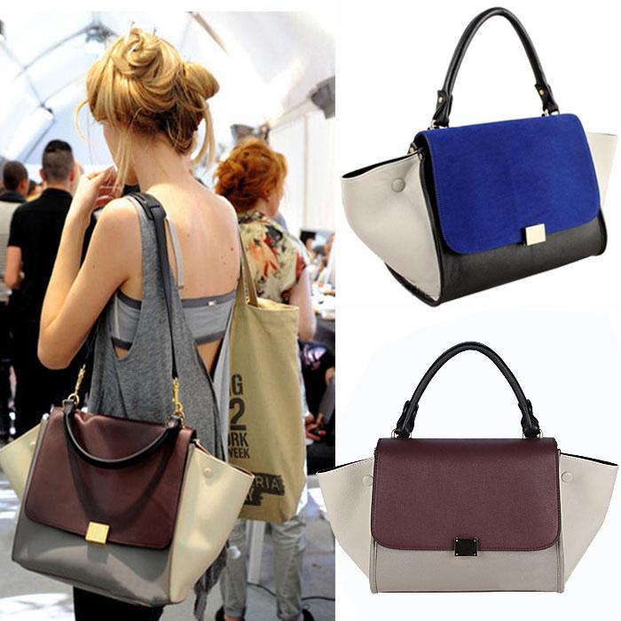 joyprettye | Cool Tricolor Celine Trapeze Handbag | Online Store ...