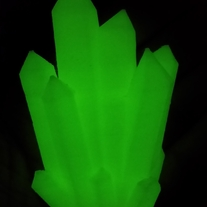 3D Printed Kryptonite Glow in the Dark  medium photo