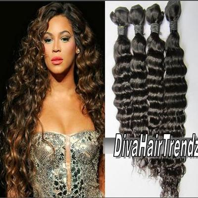 "20"", 22"" & 24"" brazilian remy deep wave hair [3 bundles]"