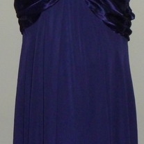 Purple Halter Dress-Connected Woman Size 14W