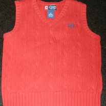 Red Sweater Vest-Chaps Size 5
