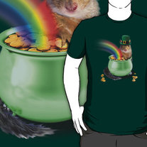 Irish Squirrel T-Shirt