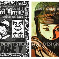 2007 OBEY Limited Edition Sticker