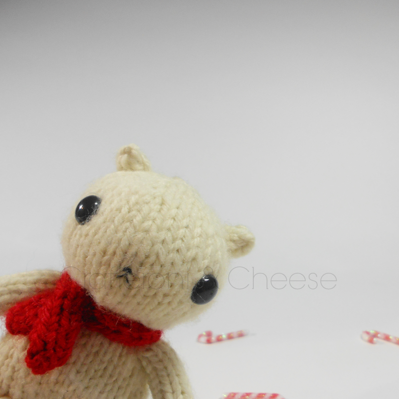 Amigurumi Wool : CLEARANCE - Amigurumi Knit Polar Bear Plush ? Crafteroni ...