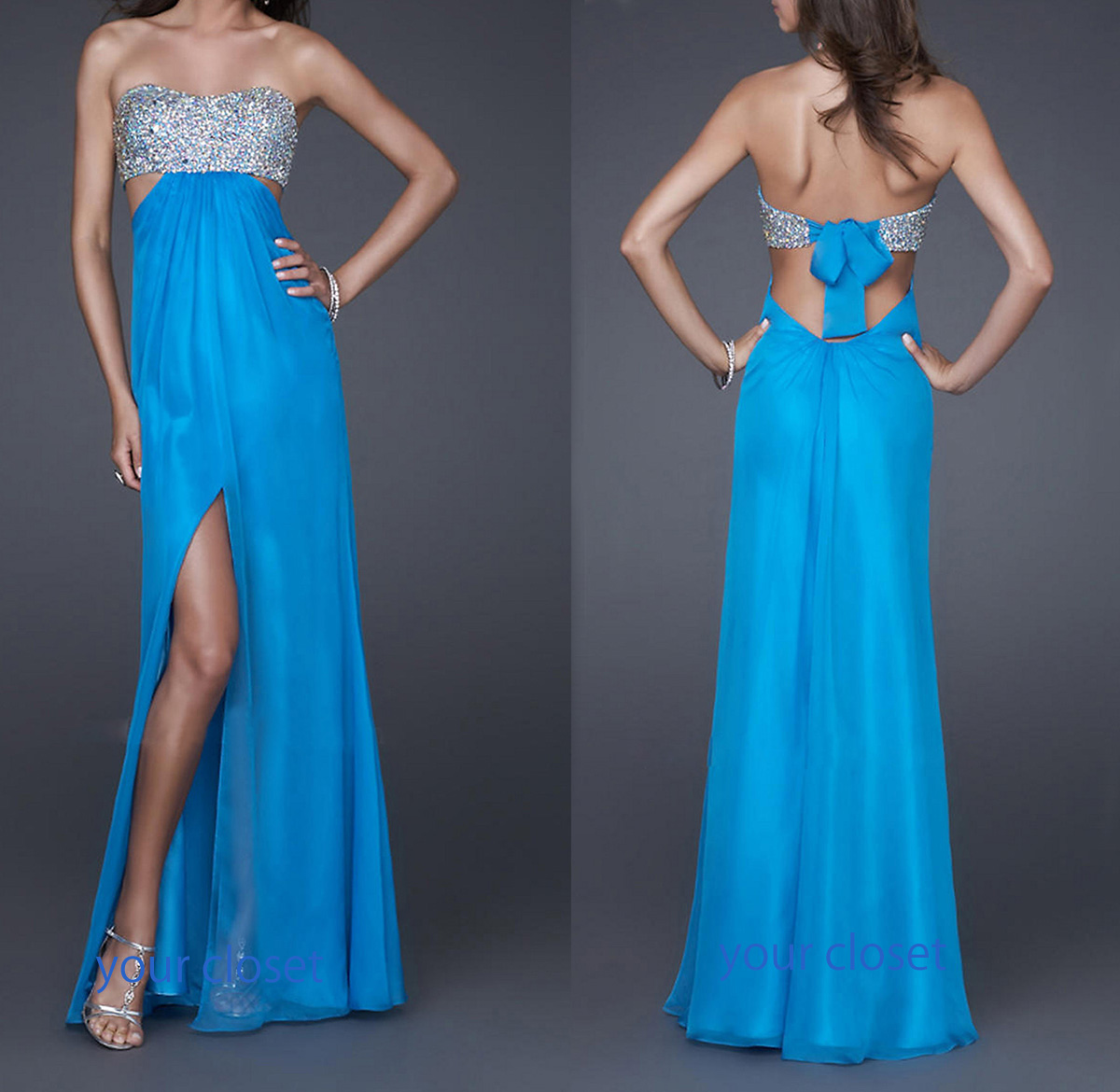 Cute Blue Prom Dresses Tumblr Viewing Gallery